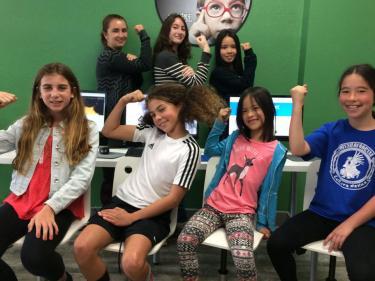 The coder school girls