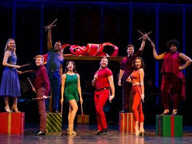 Transcendence Broadway Holiday show