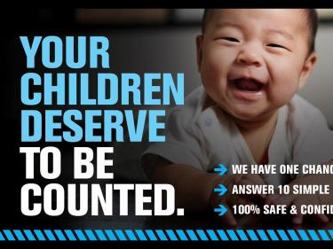 Your children deserve to be counted Census 2020