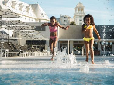 Claremont Club & Spa kids playing in pool