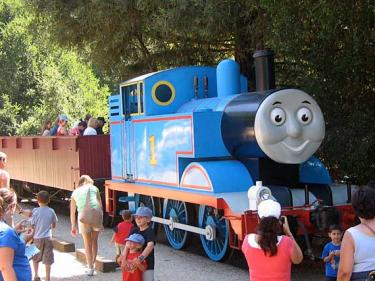 Thomas the Tank Engine at Day Out with Thomas at Roaring Camp Railroads