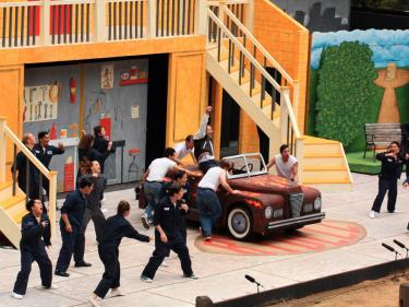 Grease Mountain Play