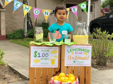 SF-Marin Food Bank Lemonade Stand