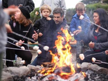 Naturebridge Campfire s'mores Marin Headlands