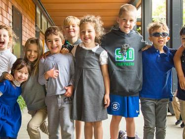 San Domenico School kids