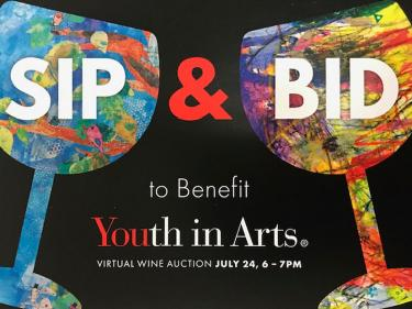 Sip & Bid for Youth in Arts