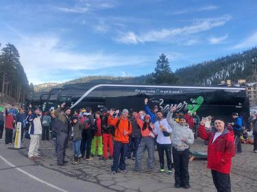 Sports Basement Tahoe Ski Bus