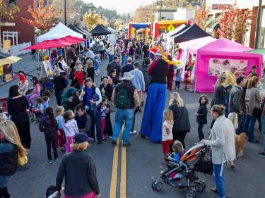 West End Village Celebration in San Rafael