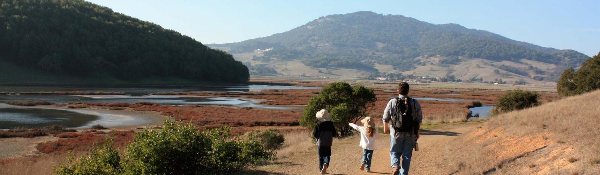 Fall family hikes in Marin